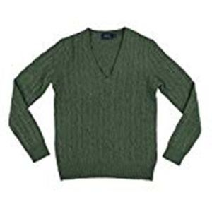 Polo by Ralph Lauren Wool Cashmere V Neck Sweater